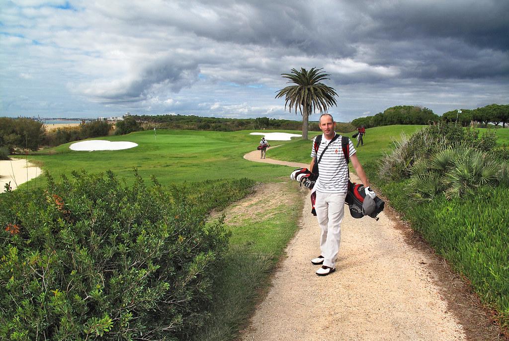 Me @ Ocean View Course, Vale do Lobo, Algarve, Portugal