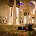 Prostrating inside Sheikh Zayed by modenadude