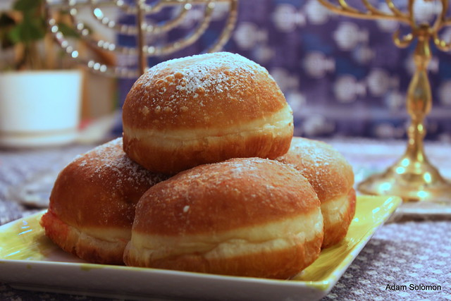 Sufganiyot | Sufganiyot from Israel! They are like doughnut ...