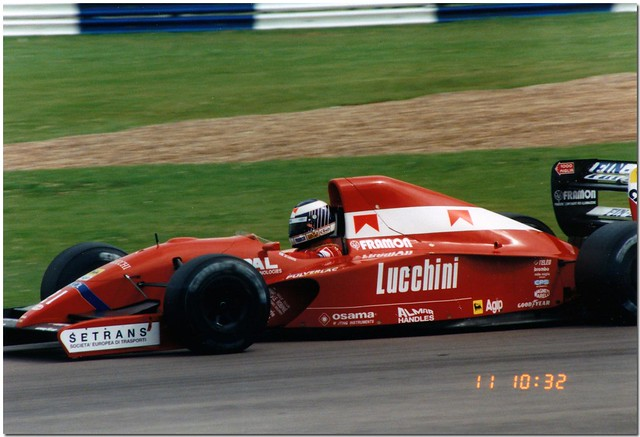 J J Lehto BMS Scuderia Italia Dallara Judd 192  F1. 1992 British GP Silverstone.