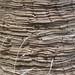 natural indigo shibori scarf process