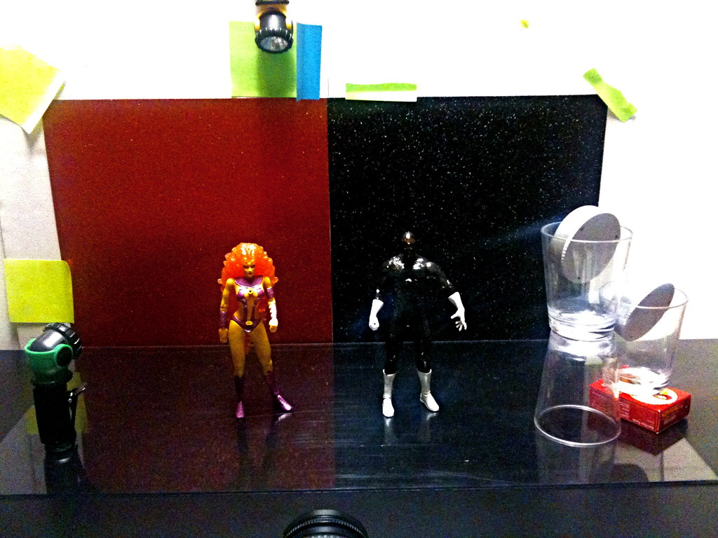 Starfire vs. Starman Setup