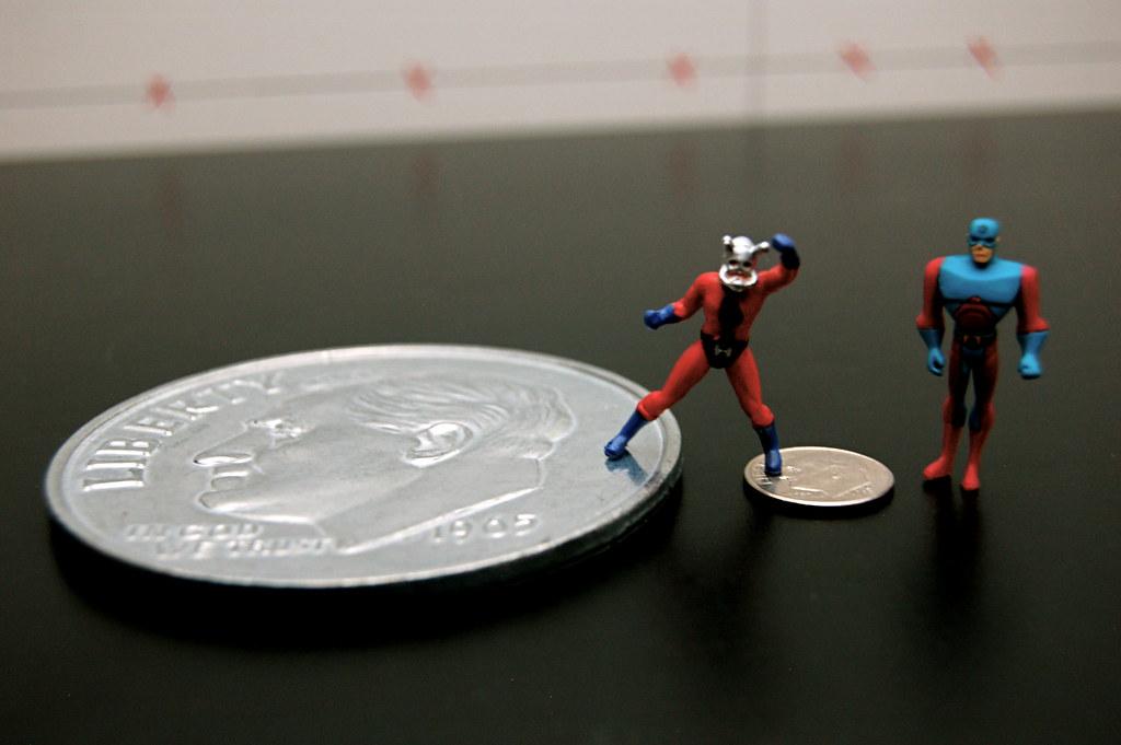Atom vs. Ant-Man Setup Scale