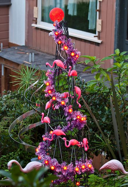 Pink Flamingo Christmas Tree Flickr Photo Sharing