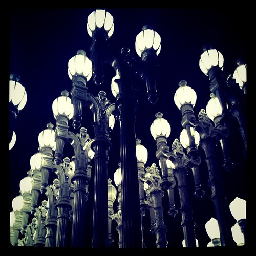 Lampposts at LACMA