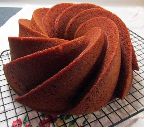 Honey Spice Bundt Cake