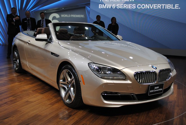 2011 Detroit: 2012 BMW 650i Convertible