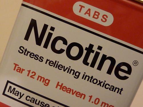 Nicotine the Princpal cause of smoking addiction
