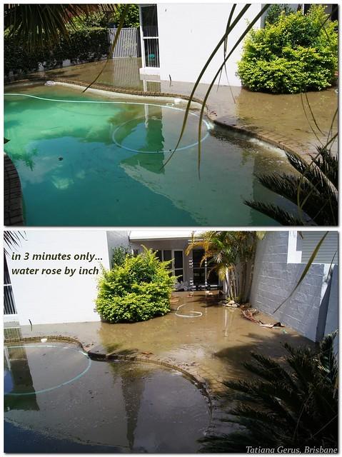 Flood Damaged Swimming Pool : Brisbane flood swimming pool is ruined flickr photo