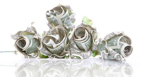 Origami money flower best flower 2017 mejores 40 imgenes de money flowers origami en flores mightylinksfo Images