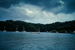 Stormy Skies. Calm Seas.