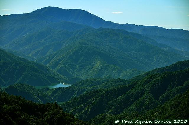 View of the Ambuklao Dam, Benguet