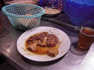 Moroccan food and drink - food on Djemaa el Fna