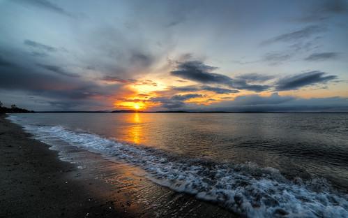 sunset beach water clouds canon washington waves pacificnorthwest pugetsound alkibeachpark canoneos5dmarkiii samyang14mmf28ifedmcaspherical johnwestrock