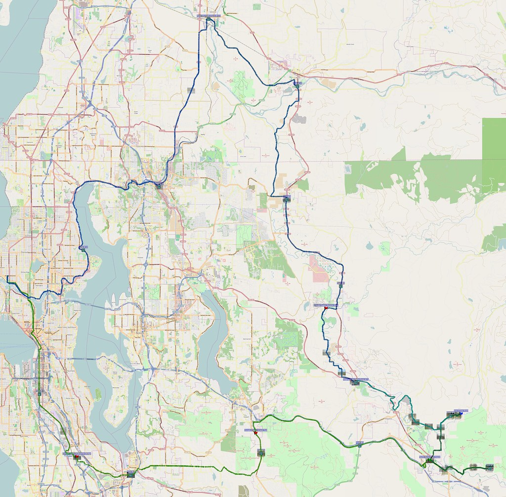 Map: 141 miles