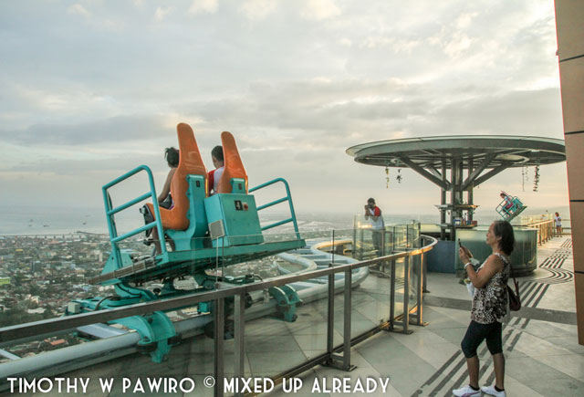 Asia - Philippines - Cebu - Sky Experience Adventure - Edge Coaster Ride