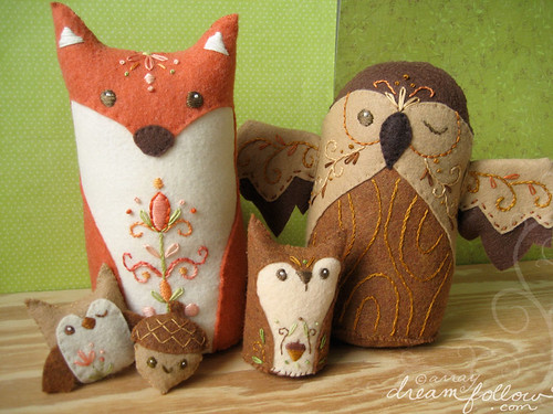 my woodland animals