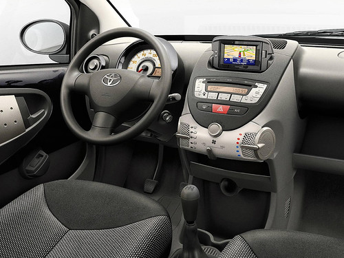 toyota aygo connect 2010 interior a photo on flickriver. Black Bedroom Furniture Sets. Home Design Ideas