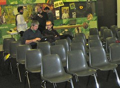 Lecture space at Museo cantonale di storia naturale