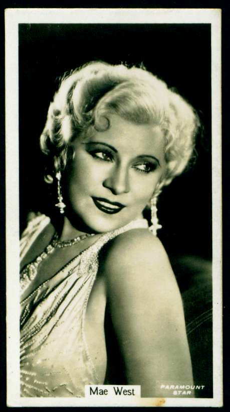 Cigarette Card - Mae West