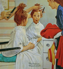 First Trip to a Beauty Shop
