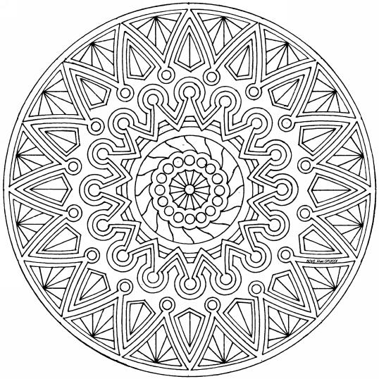 Dibujos Para Colorear Adultos Mandalas ~ Ideas Creativas Sobre Colorear