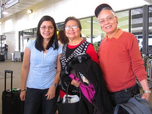 Arrival of Pa and Ma (Toronto to Los Angeles)
