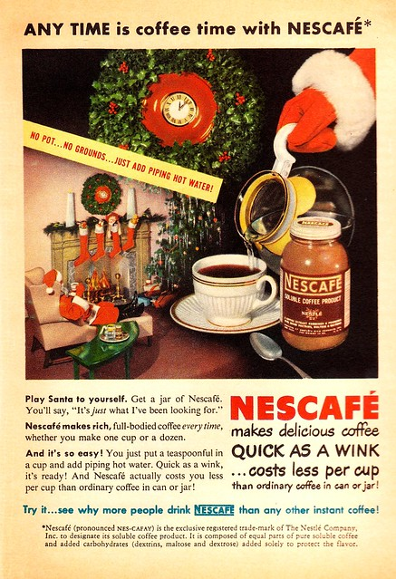 Leave Instant Coffee for Santa!