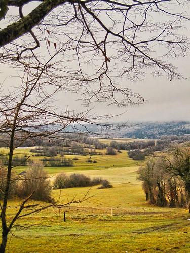 Jogging un matin d'hiver, aux Catagnolles !!!!