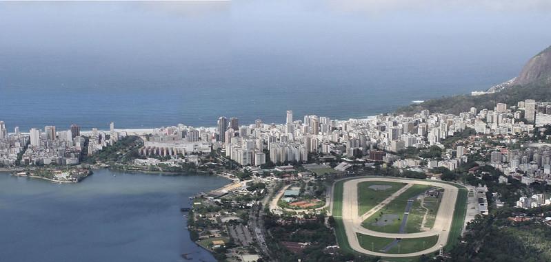 Looking south from Corcovado, Rio de Janeiro