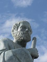 Aristotle's statue