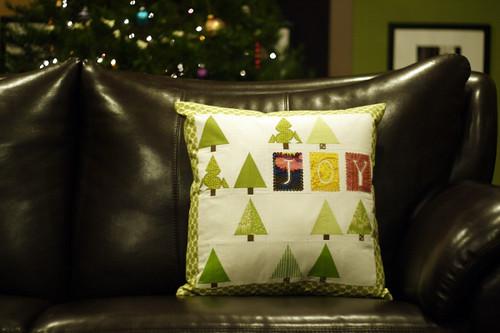 Lovely Little Forest Pillow