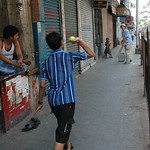 Street Cricket - Kolkata, India