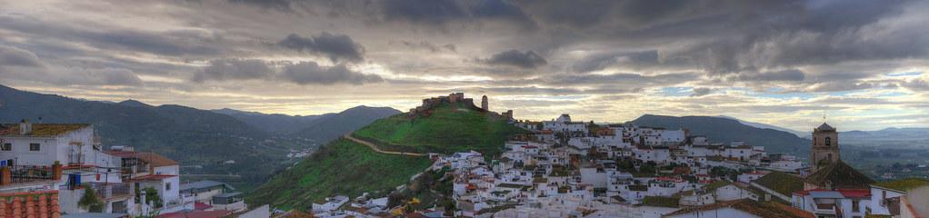 Castillo árabe de Álora - Málaga (HDR) - Arabic castle