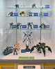 Lego mechas display