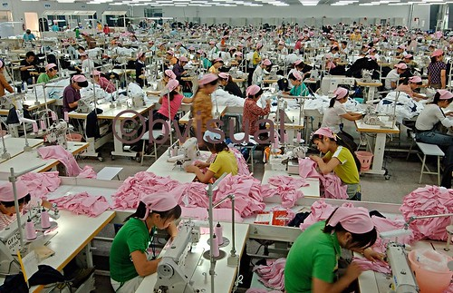 TEXTILE FACTORY: JIANGSU, CHINA