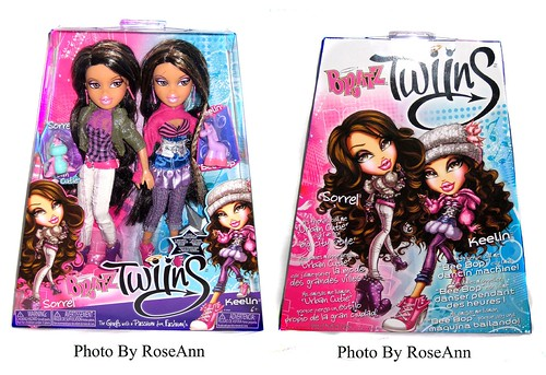 BRATZ 2011 TWINZ Sorrel and Keelin