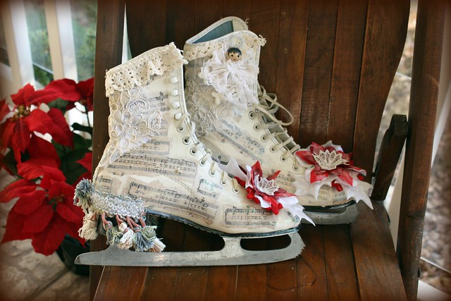 Decorated Ice Skates Flickr Photo Sharing