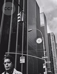 Portrait of a New Yorker, by John Gutmann 1978