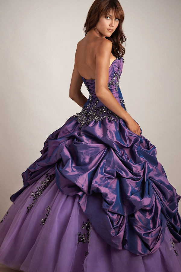 Purple Wedding Dress - Gown And Dress Gallery