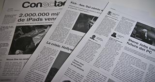 Maquetación de periódico