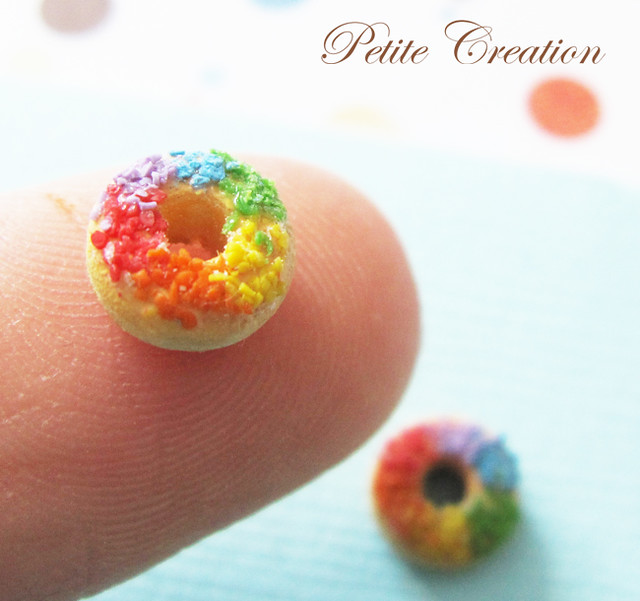 Donut Collection - Tiny Rainbow Donuts (Stud Earrings) | Flickr ...