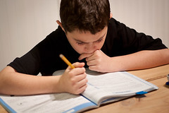 child, hand, writing, reading, education, homework, person, learning, sitting,