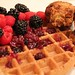 Chicken and Buckwheat Waffles