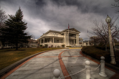 Nevada Governor's Mansion - HDR
