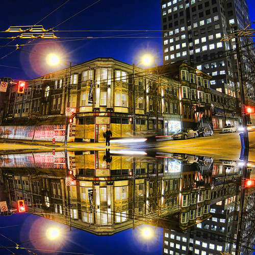 city travel bridge red vacation urban holiday canada mountains reflection tourism vancouver landscape mirror bc canadian vancouverisland pacificnorthwest hdr victoriabc granvillestreet nationalgeographic lotusland colorphotoaward zedzap