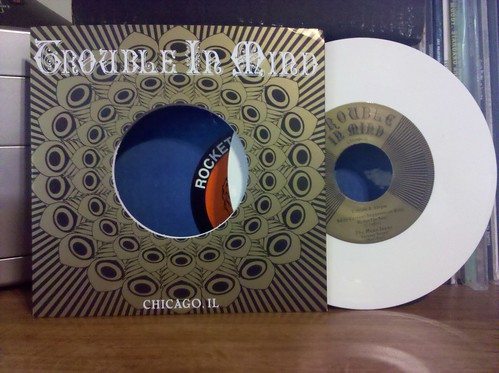 "Record Store Day Haul #5 - Trouble In Mind 4-Way Split 7"" - White Vinyl"