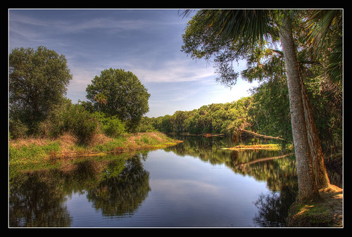 trees light sun nature water clouds reflections landscape agua nikon florida outdoor wildlife nubes sarasota javier hdr myakka d80 hightdynamicrange touraroundtheworld huanay