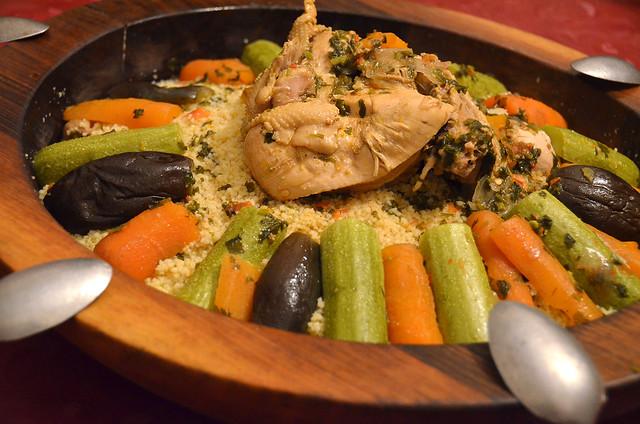 Cuscus, plato típico de Marruecos