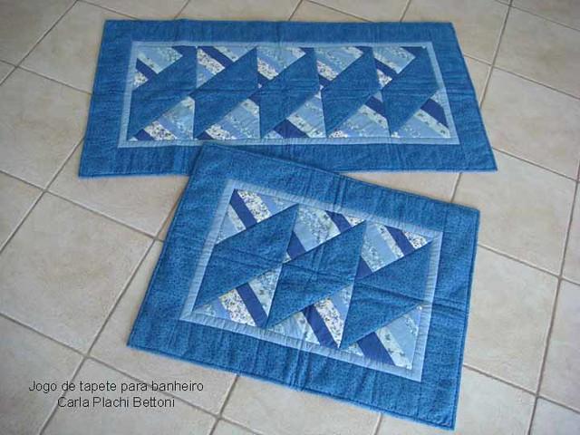 Patchwork Tapete De Banheiro : Jogo de tapete para banheiro Flickr – Photo Sharing!